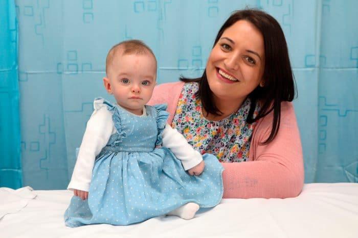 Laura Worsley y hija Ivy