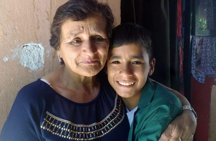 Leonardo Nicanor abuela