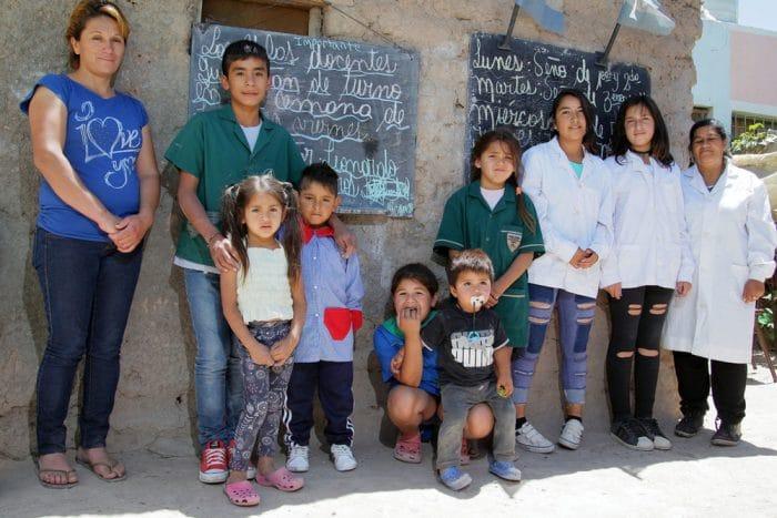 Leonardo Nicanor alumnos escuela