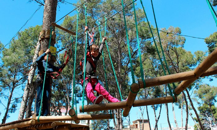 Parque Bosc Aventura, en Salou, Tarragona