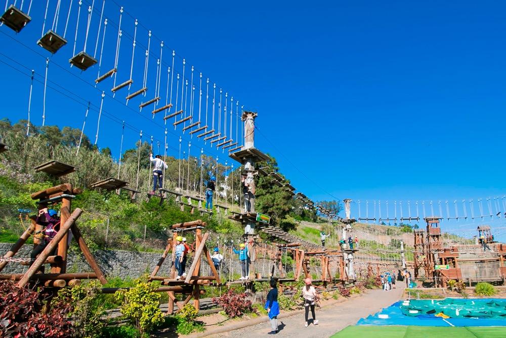 Los 10 mejores parques de aventura de España