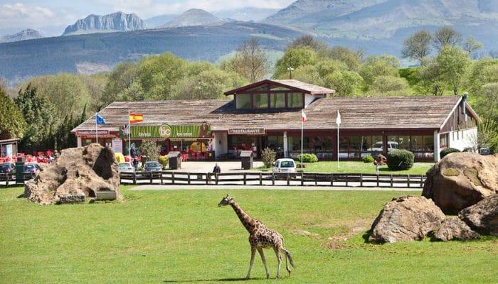 Parque de la Naturaleza de Cabárceno restaurante autoservicio