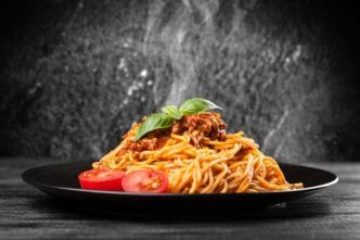 Espaguetis a la boloñesa