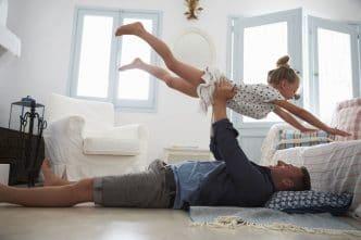 Padre e hija relación mágica