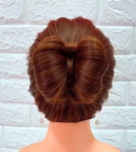 Peinado niña Lazo