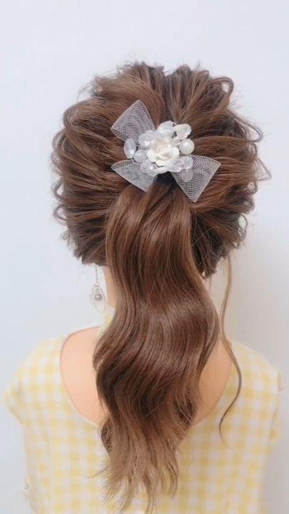 Peinado fácil para niña Nueva versión de la típica coleta