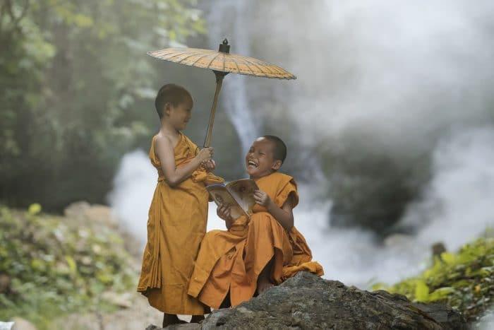 budismo niños
