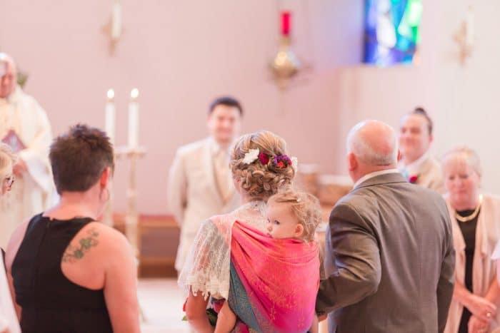 porteando hija novia boda 5