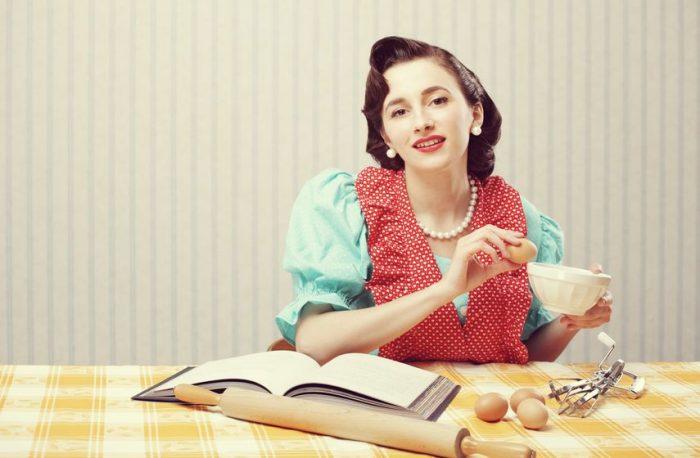 Buena ama de casa en 1950