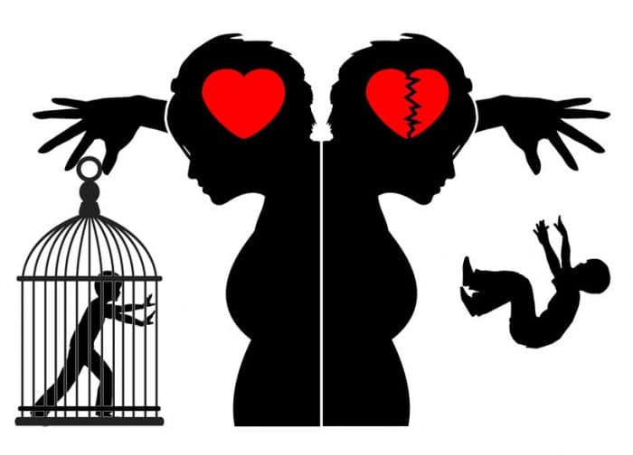 Manipulación hijos divorcio