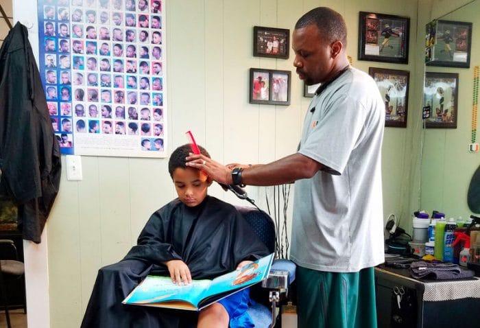 barbero descuento leer