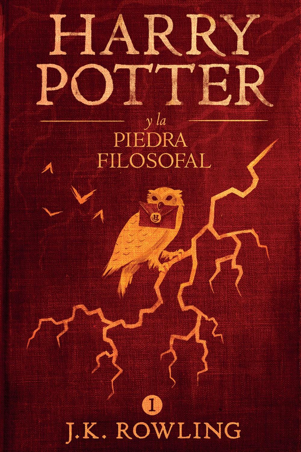 Libro Harry Potter, de J. K. Rowling