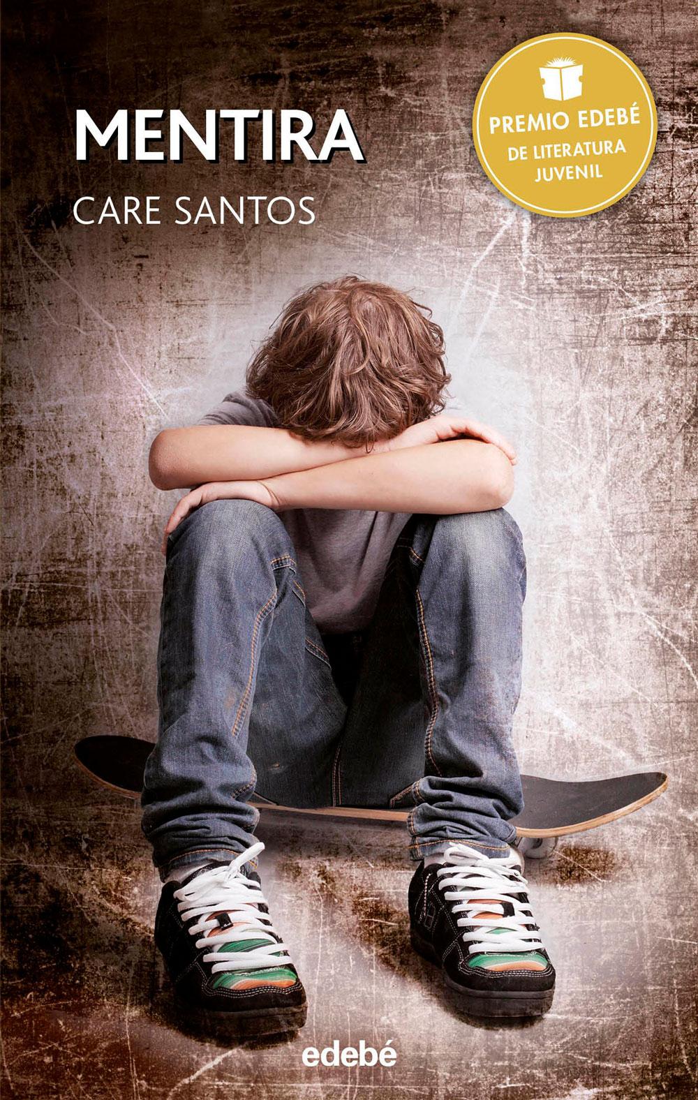 Libro Mentira, de Care Santos