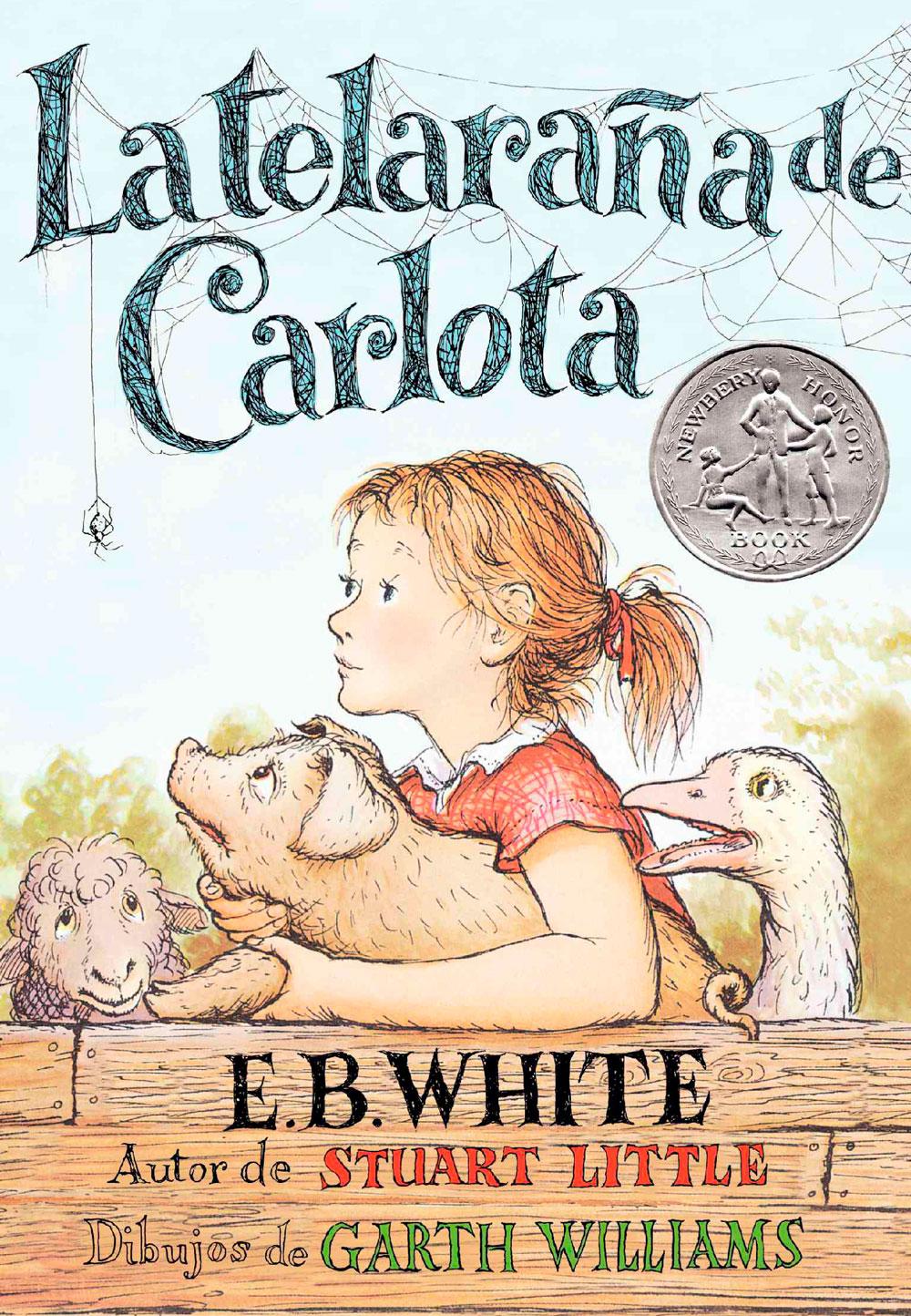 Libro La telaraña de Carlota, de E. B. White