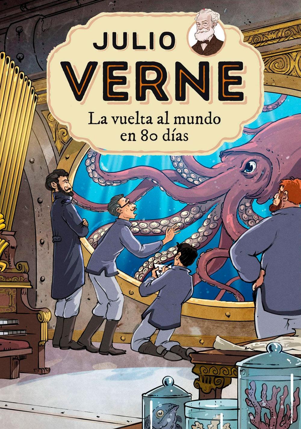Libro La vuelta al mundo en 80 días, de Julio Verne
