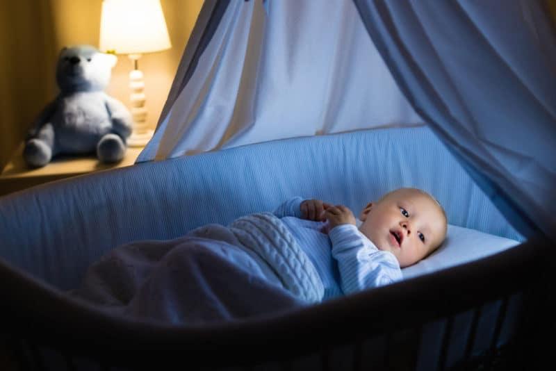 Bebé que duerme menos es más inteligente