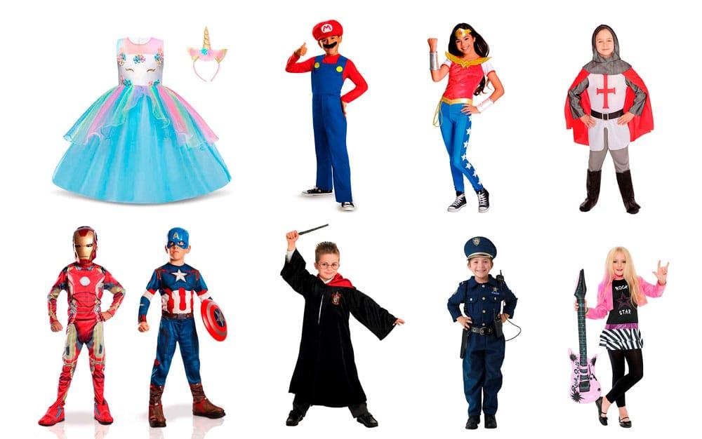 20 disfraces bonitos y originales para niños y niñas en 2020