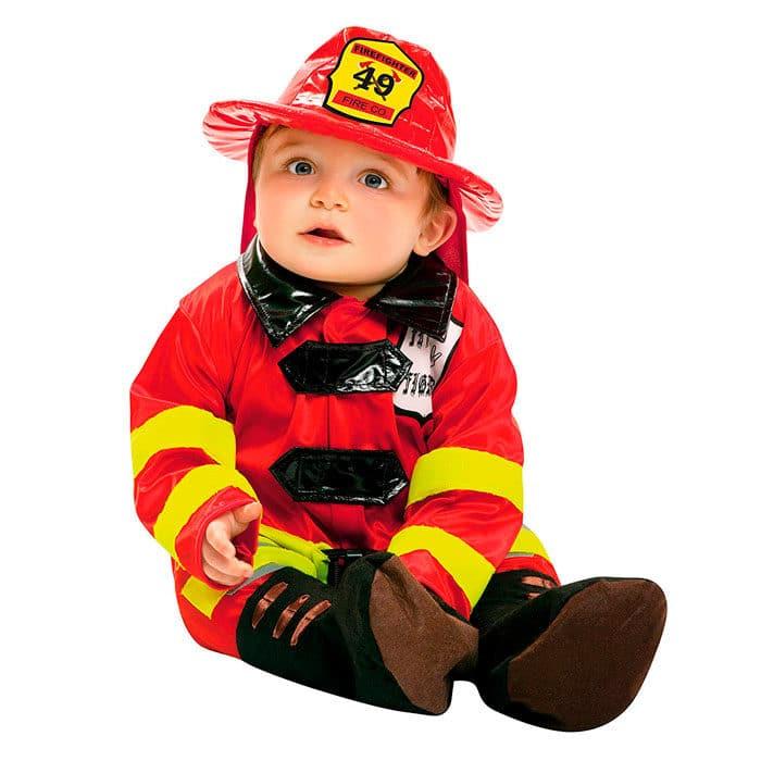 Disfraz bebé bombero