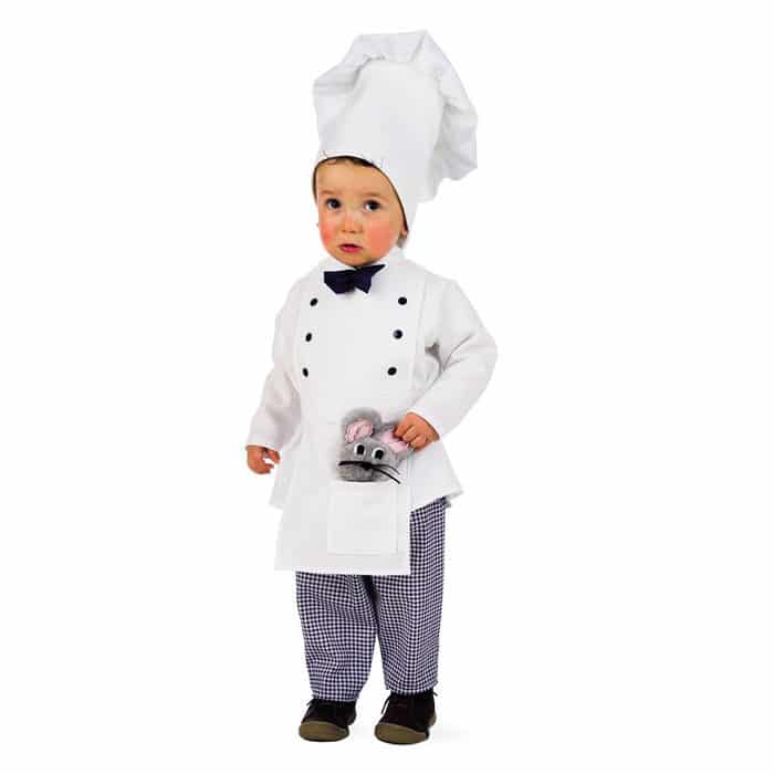 Disfraz bebé cocinero