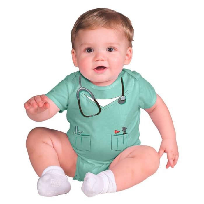 Disfraz bebé médico