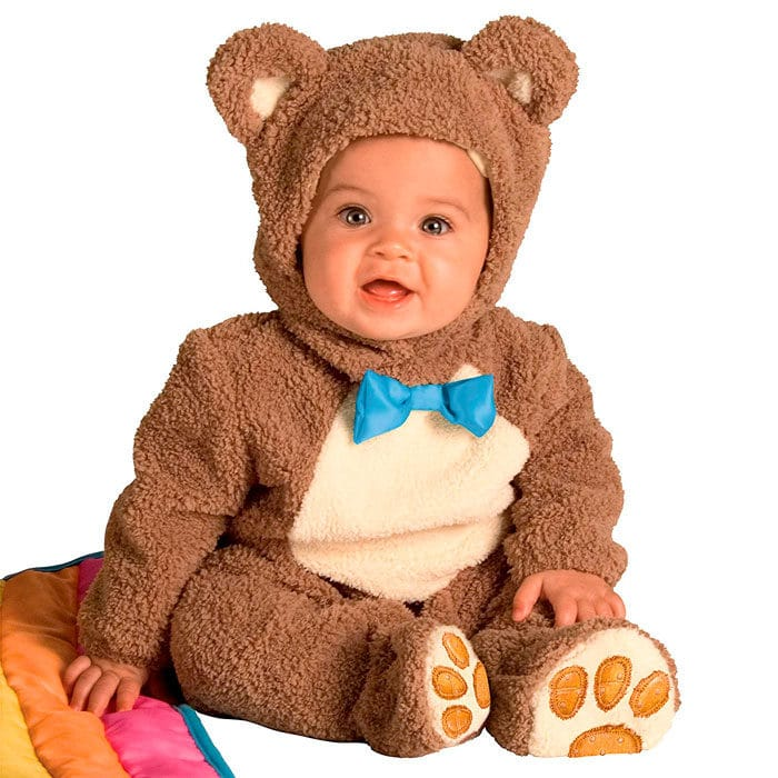 Disfraz bebé oso
