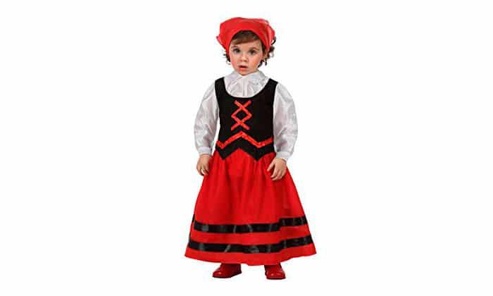 Disfraz bebé pastora