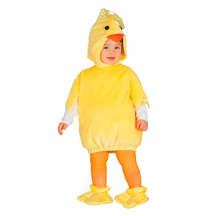 Disfraz bebé pollito