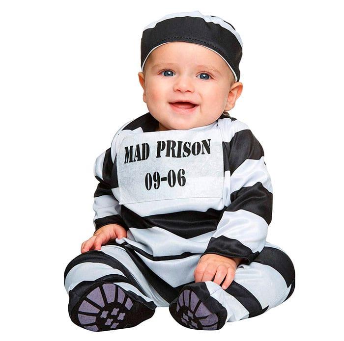 Disfraz bebé prisionero