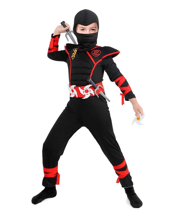 Disfraz infantil de Power Ninja