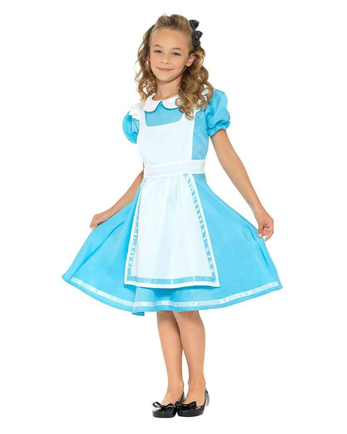 Disfraz para niña de Alicia en el País de las Maravillas