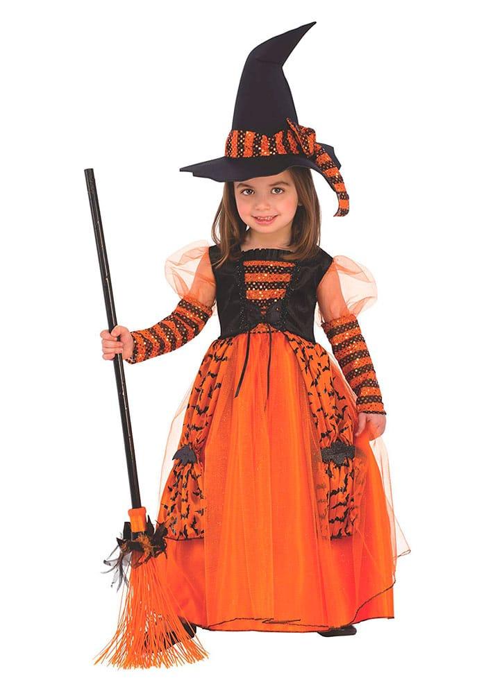 Disfraz para niña de Bruja
