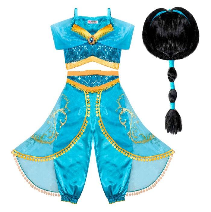 Disfraz para niña de Princesa Jasmín