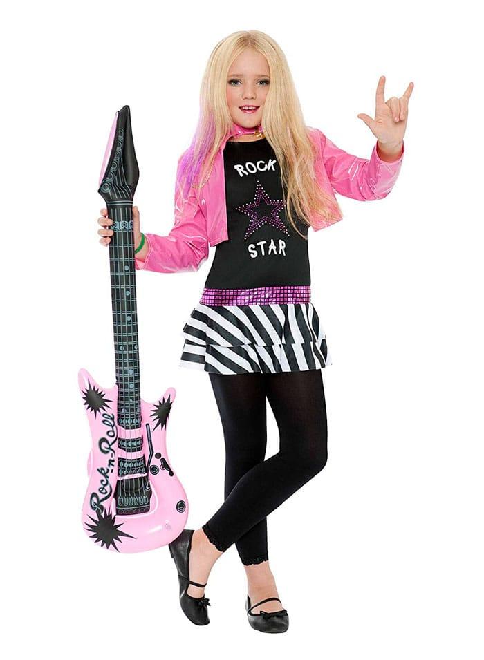 Disfraz para niña de Rockera