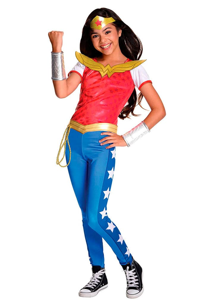 Disfraz para niña de Wonder Woman