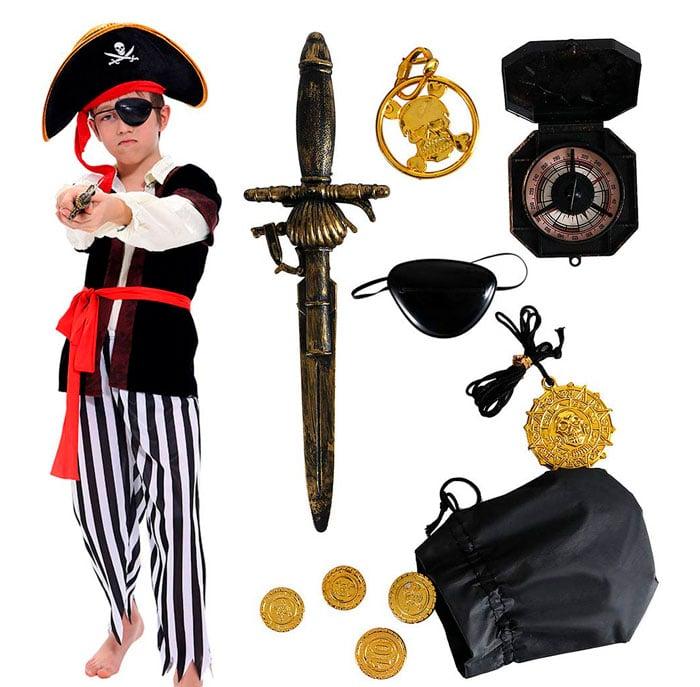 Disfraz para niño de Pirata