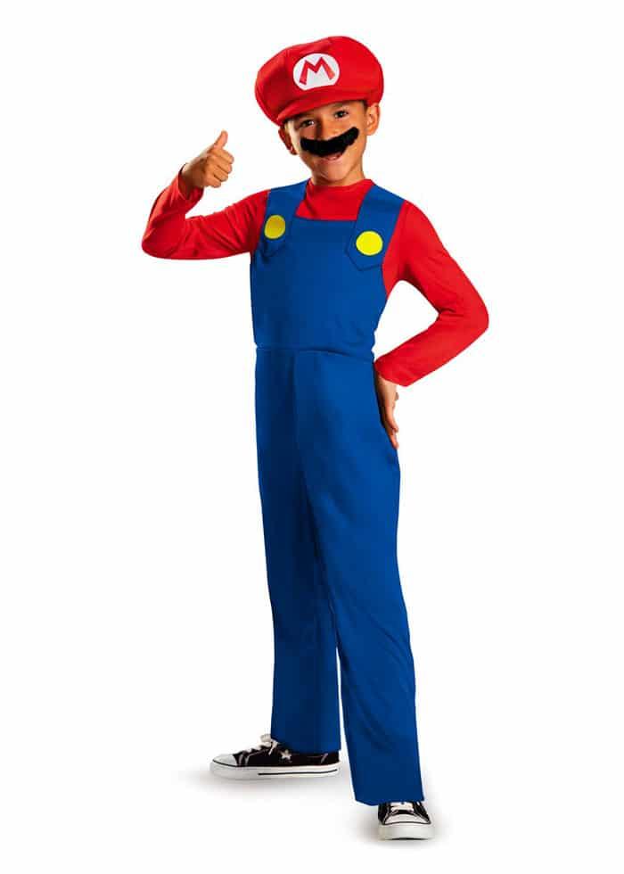 Disfraz para niño de Súper Mario