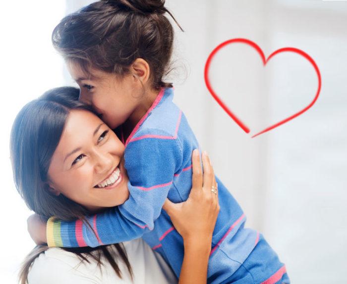 San Valentín con niños