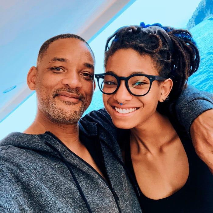 Will Smith y su hija Willow