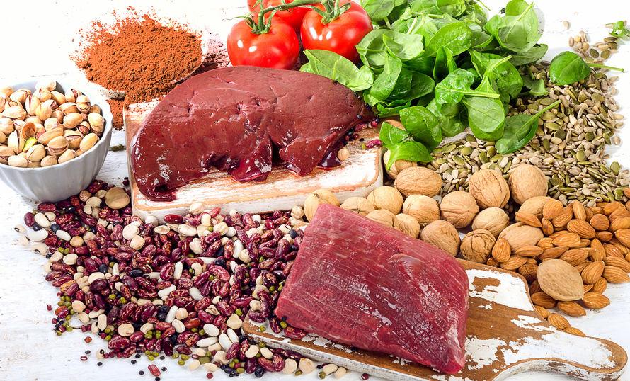 Alimentos para combatir la anemia infantil
