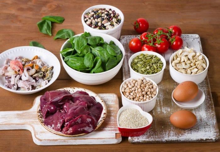 Alimentos ricos en hierro para la anemia