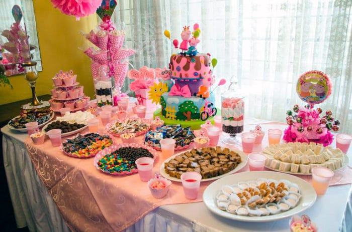 fiesta cumpleaños infantil ostentosa