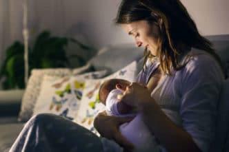 lactancia materna noche