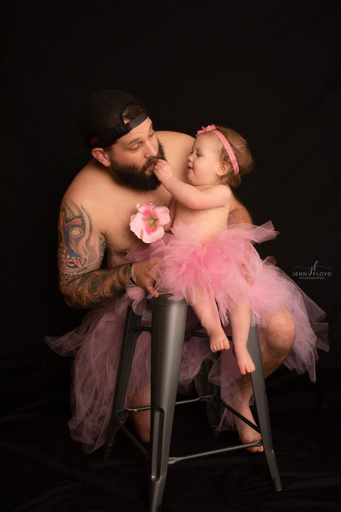 papa juega hija tutu 4