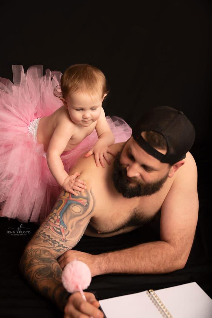 papa juega hija tutu 5
