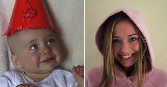 Video niña hasta mujer 20 años