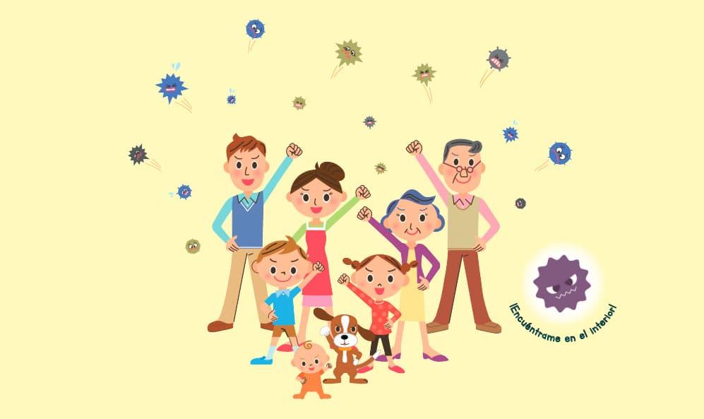 Rosa contra el virus: el cuento para explicar el Coronavirus y otros virus