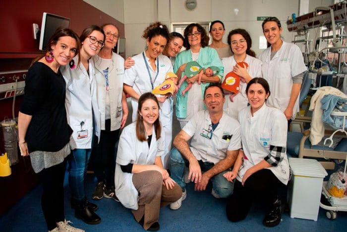 bebés prematuros Neonatología Clínic Barcelona