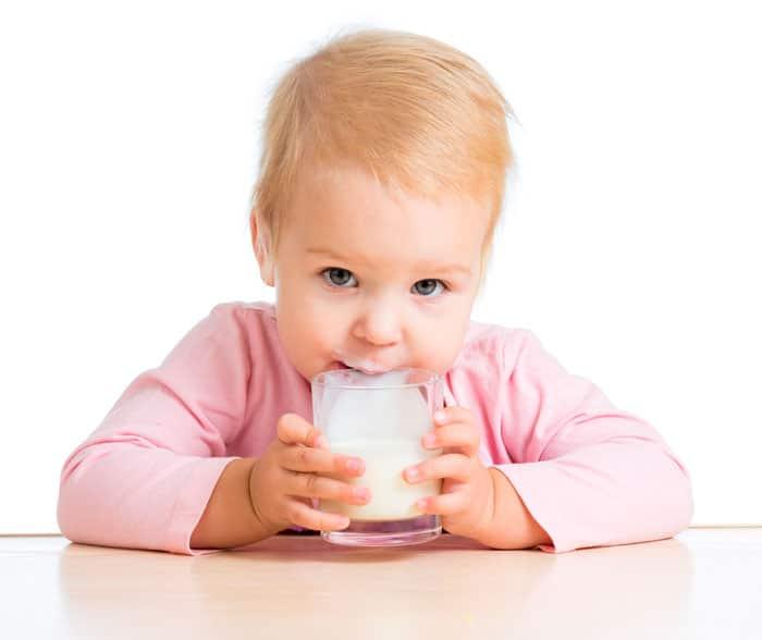 Bebidas recomendadas para bebés y niños