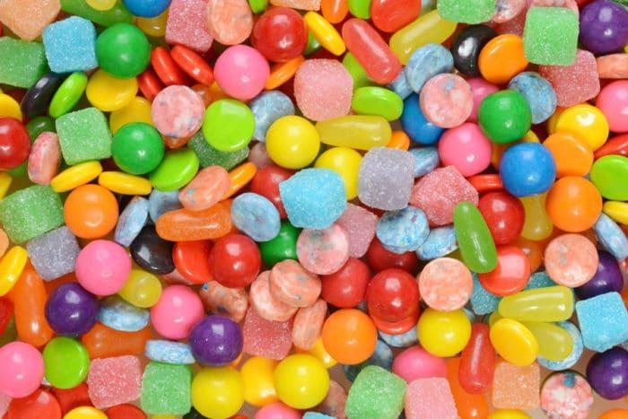 Golosinas sin azúcar