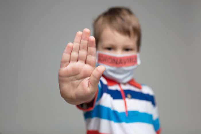 Niños infectados coronavirus